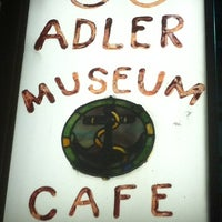 Photo taken at Specs' Twelve Adler Museum Cafe by Gilbert L. on 3/10/2012