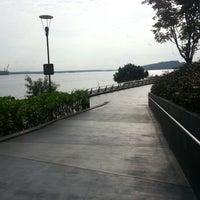 Photo taken at Punggol Promenade by Joshua L. on 9/1/2012