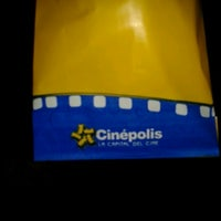 Photo taken at Cinépolis by Carlos R. on 9/8/2012