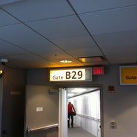 Photo taken at Gate B29 by Craig on 9/1/2012