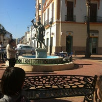 Photo taken at plaza santa bárbara by Consuval C. on 2/19/2012