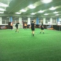 Photo taken at Fodboldfabrikken by Nick C. on 2/13/2012