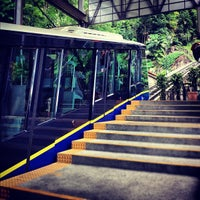 Photo taken at Penang Hill Railway Lower Station by Jessica S. on 5/6/2012