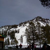 Photo taken at Alpine Meadows Lodge by Frederique V. on 4/2/2012