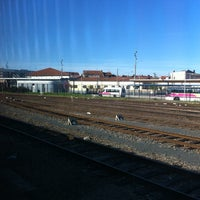Photo taken at Gare SNCF de Roanne by Alex S. on 5/4/2012