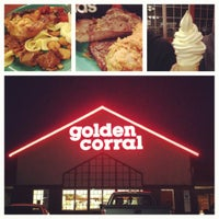 Photo taken at Golden Corral by Janine on 4/14/2012