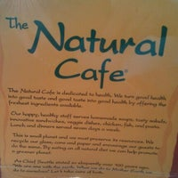 Photo taken at Natural Cafe by Mae W. on 3/5/2012
