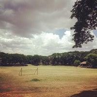 Photo taken at Sunken Garden by Gilbz A. on 4/30/2012