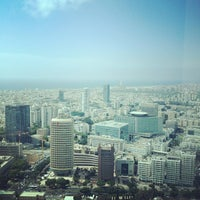 Photo taken at Azrieli Square Tower by Gleb K. on 5/16/2012