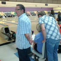 Photo taken at AMF Gulf Gate Lanes by Simply S. on 3/20/2012