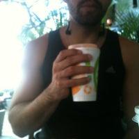 Photo taken at Uva Verde - Café e Sucos by Plinio O. on 6/26/2012