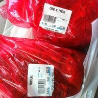 Photo taken at Establos Meat Market by Jason S. on 5/11/2012