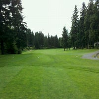 Photo taken at Canterwood Golf And Country Club by Sean V. on 7/21/2012