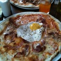 Photo taken at La Pizza Nostra by Natalia H. on 4/26/2012