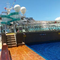 Photo taken at Carnival Freedom by Chris H. on 7/8/2012