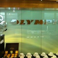 Photo taken at Melina Merkouri Lounge by Adrian L. on 5/19/2012
