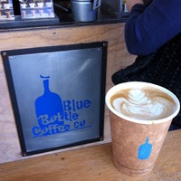 Photo taken at Blue Bottle Coffee by Mike R. on 8/18/2012