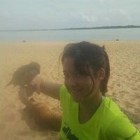 Photo taken at Playa Punta Norte by dalorema on 5/26/2012