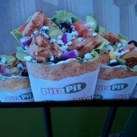 Photo taken at Pita Pit BG by Chad B. on 5/15/2012