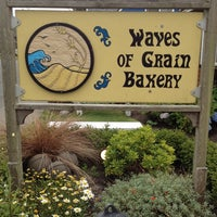 Photo taken at Waves of Grain Bakery by Raven K. on 7/12/2012