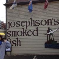 Photo taken at Josephson's Smokehouse by Christina T. on 4/13/2012