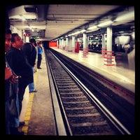 Photo taken at Metro Salto Del Agua [Líneas 1 y 8] by Raul M. on 5/12/2012