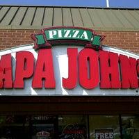 Photo taken at Papa John's Pizza by Michael J. on 5/24/2012