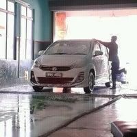 Photo taken at Car Wash alam budiman by Nurul N. on 7/24/2012