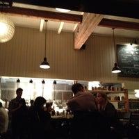 Photo taken at Restaurant Zoë by feistyfeaster on 4/19/2012