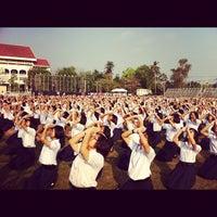 Photo taken at Ayutthaya Witthayalai School by Gamenezz K. on 3/2/2012