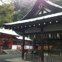 Photo taken at 吉田神社 by Koji H. on 2/27/2012