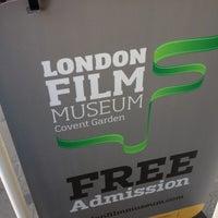 Photo taken at London Film Museum by Alan J. on 7/11/2012