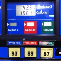 Photo taken at Mobil by Chris H. on 3/13/2012