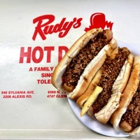 Photo taken at Rudy's Hot Dog by Andrew W. on 4/29/2012
