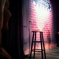 Photo taken at Flappers Comedy Club by Janelle B. on 3/4/2012