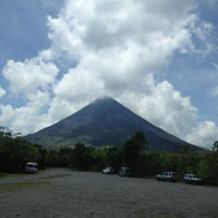 Photo taken at Volcán Arenal by Francisco F. on 5/25/2012