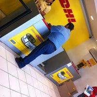 Photo taken at DHL Express by Gerardo A. on 3/7/2012
