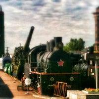 Снимок сделан в Центральный музей Октябрьской железной дороги пользователем Сидр 7/20/2012