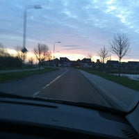 Photo taken at Dronten West by Suzanne S. on 4/1/2012
