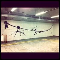 Photo taken at Meiji-jingumae 'Harajuku' Station by Takawo T. on 3/25/2012