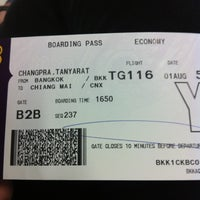Photo taken at Gate B1B by Tanyarat C. on 8/1/2012