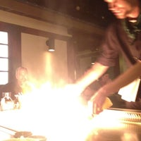 Photo taken at Genji Japanese Steakhouse by Michael H. on 6/1/2012