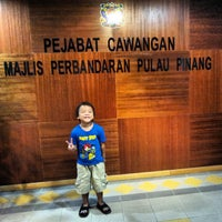 Photo taken at City Council of Penang Island (MBPP) by Irwan A. on 7/25/2012