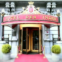 Photo taken at Hotel Des Indes by Maurice on 5/7/2012