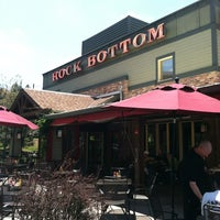 Photo taken at Rock Bottom Restaurant & Brewery by Stephanie H. on 6/16/2012