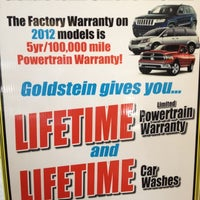 Photo taken at Goldstein Chrysler Jeep dodge by Gregory G. on 9/5/2012