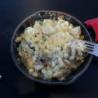 Photo taken at Cheese-ology Macaroni & Cheese by Samantha K. on 3/16/2012