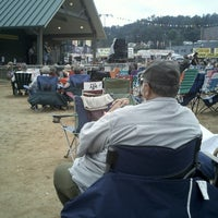Photo taken at Galax Old Time Fiddlers Convention by Russell G. on 8/11/2012