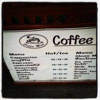 Photo taken at Coffee Mine by 💕💜::f â . on 3/31/2012