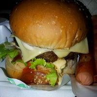 Photo taken at Burger Bakar Kaw Kaw by iana a. on 2/3/2012